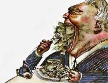 greedy capitalist