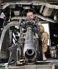 Helicopter gunner