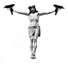 Jesus with guns