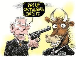 bull gets it